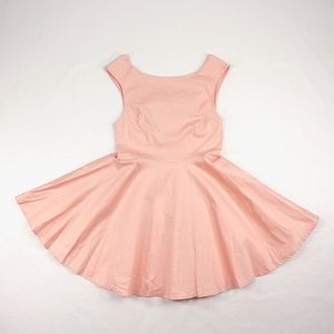 NWT Peach Fit and Flare dress